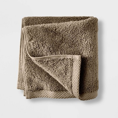 Organic Washcloth Dark Sand - Casaluna™