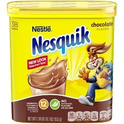 Nestle Nesquik Chocolate Flavor Powder - 18.7oz