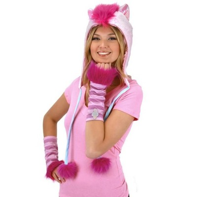 Elope My Little Pony Pinkie Pie Hoodie Hat Costume Accessory