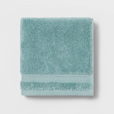 Perfectly Soft Solid Washcloth Dusty Jade - Opalhouse™