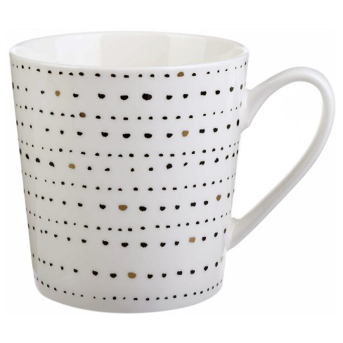 Clay Art Flair Mug 17oz Porcelain Dots - image 1 of 1