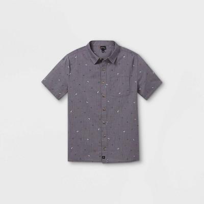 Boys' Short Sleeve Button-Down Shirt - art class™