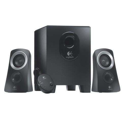 Logitech Z313 Speaker System with Subwoofer - Black (980-000382) - image 1 of 4