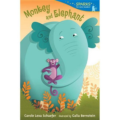 Monkey and Elephant - (Candlewick Sparks (Quality)) by  Carole Lexa Schaefer (Paperback) - image 1 of 1