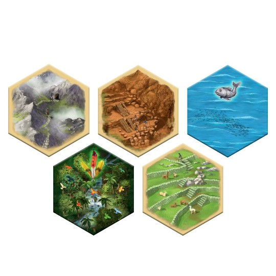 Catan: Rise of the Inkas Board Game image number null