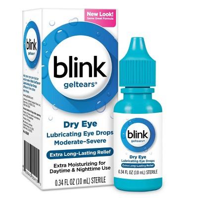 Blink Gel Tears Lubricating Eye Drops -  .34 fl oz