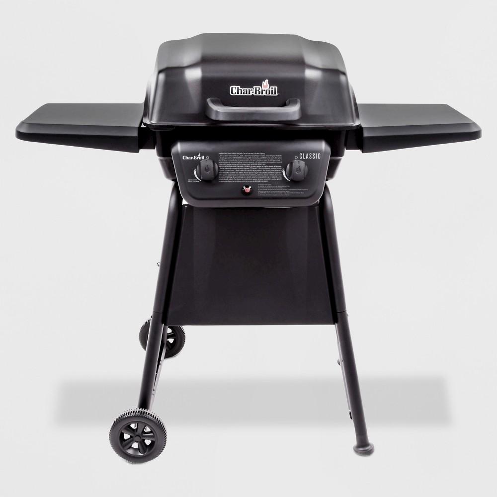Char-Broil Classic 2 – Burner 20,000 Btu Gas Grill, Black 51397373