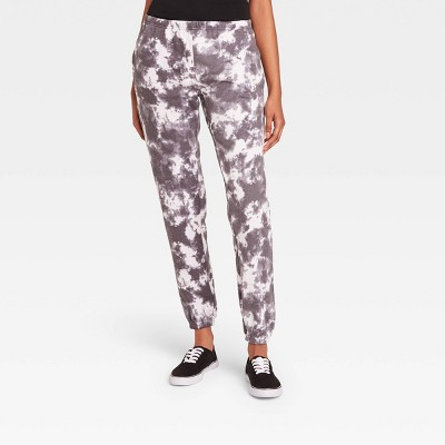 Women's Cloud Wash Jogger Pants - Light Gray