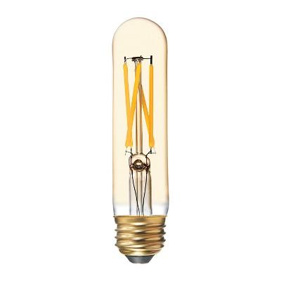 General Electric 60W VintaT9 Filament Gold LED Light Bulb White