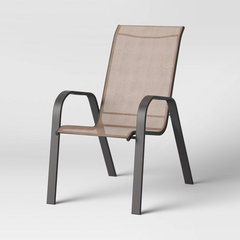 Sling Stacking Patio Chair Tan Room, Stacking Patio Furniture Canada
