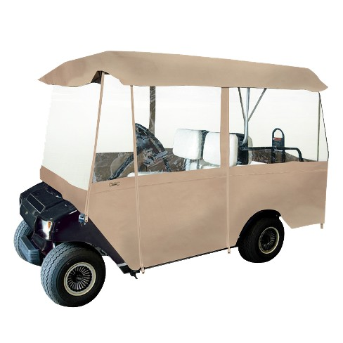 Fairway Deluxe 4-Pasenger Golf Car Enclosure - Sand - image 1 of 1
