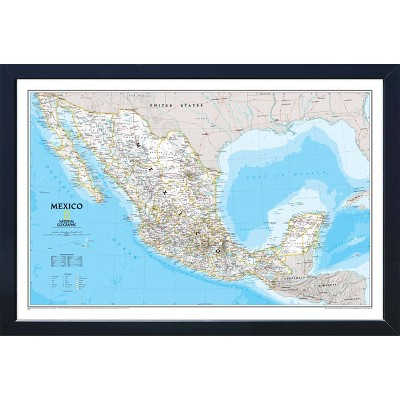 National Geographic Magnetic Travel Map Mexico Classic Target