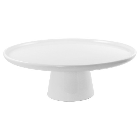 "10 Strawberry Street Whittier 10"" Cake Stand - White - image 1 of 1"