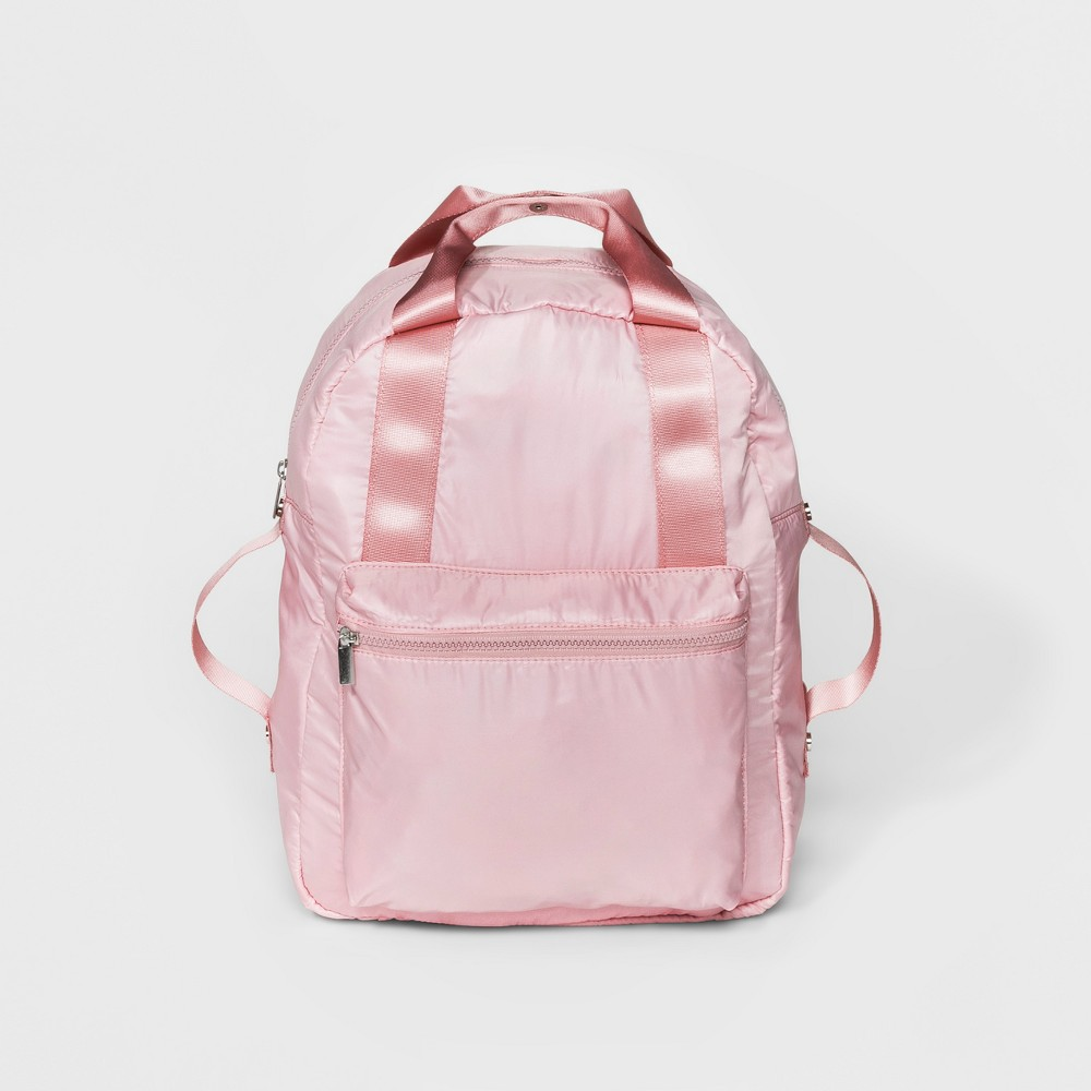 Mad Love Parachute Nylon Backpack - Blush