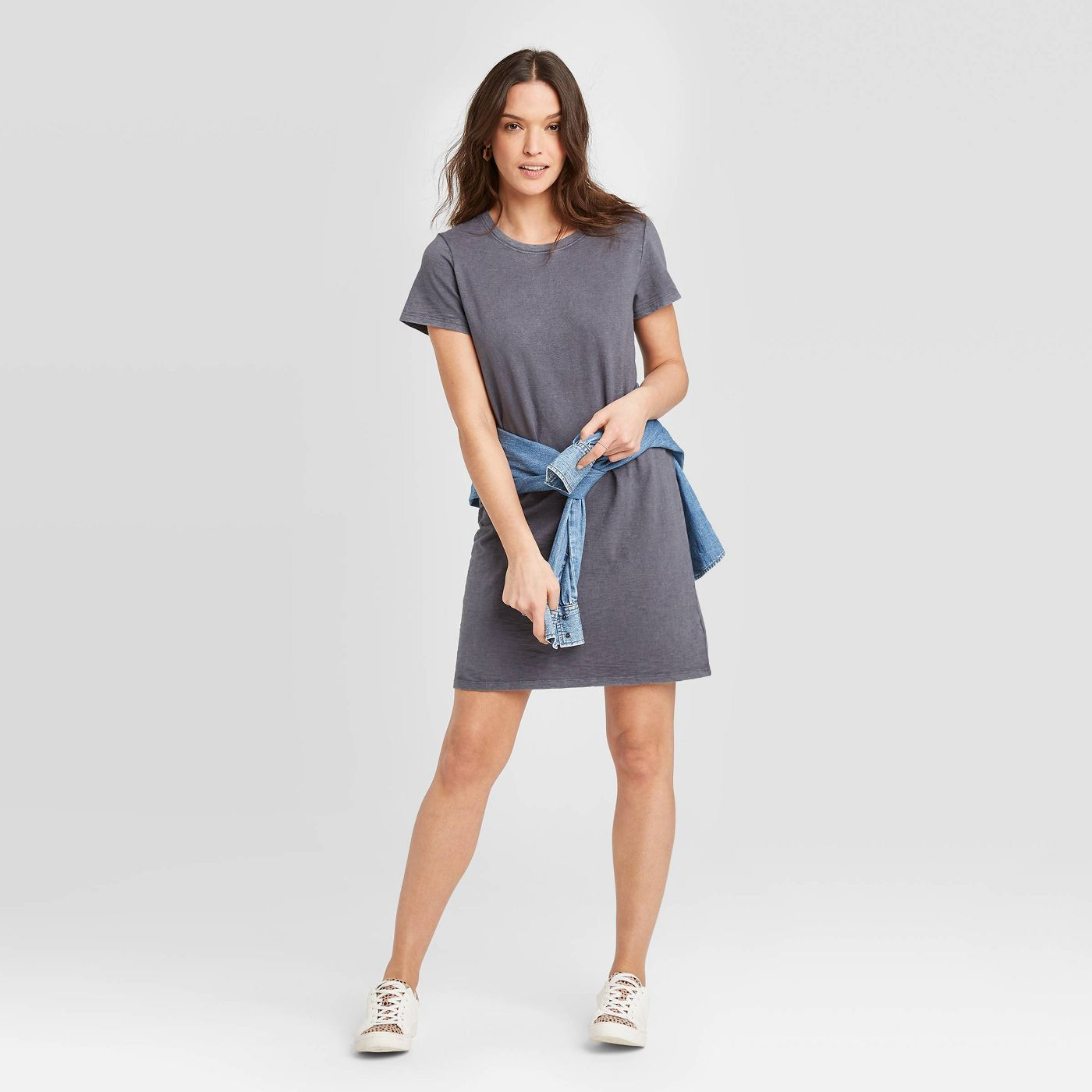 Women's Short Sleeve T-Shirt Dress - Universal Thread™ - image 1 of 11