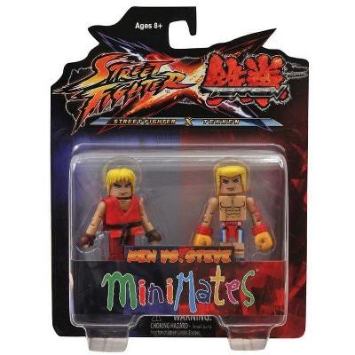 Diamond Comic Distributors, Inc. Street Fighter X Tekken Minimates Figure 2 Pack Ken vs Steve