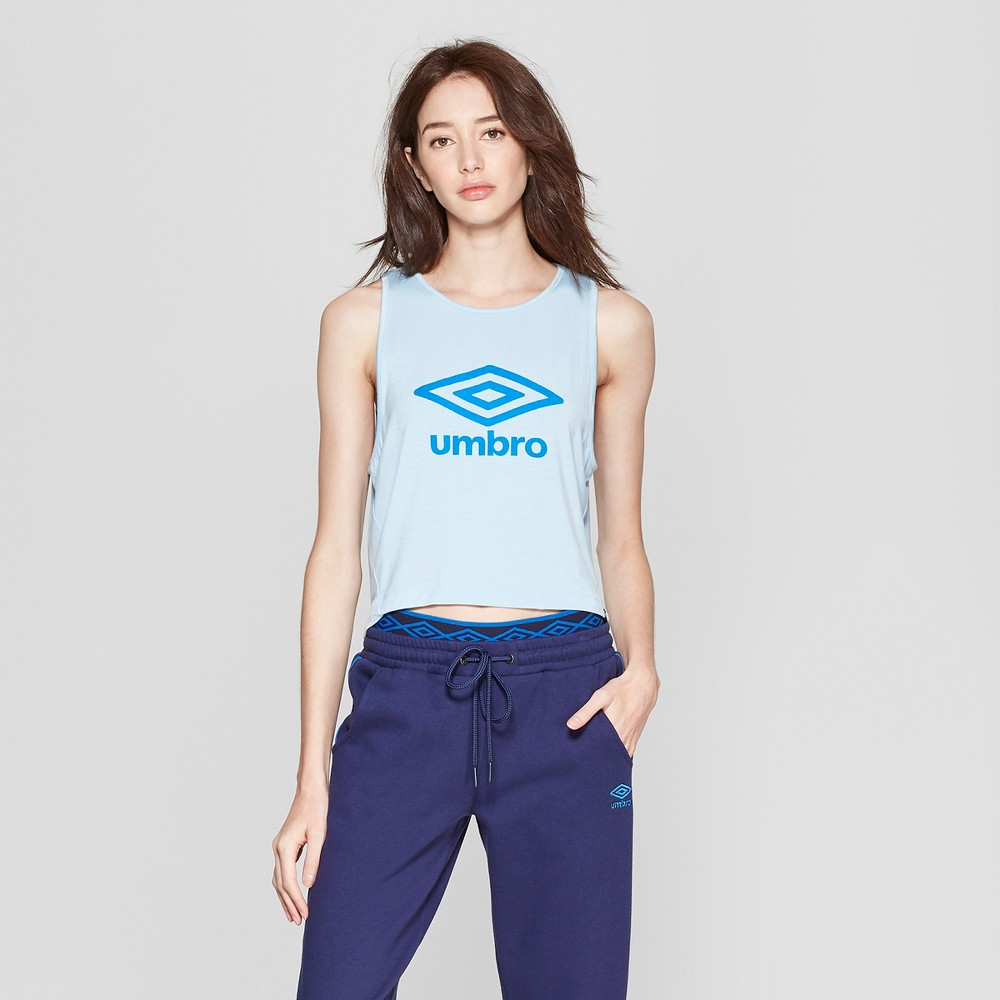 Image of Umbro Women's Muscle Tank - Blue/Dark Blue XL