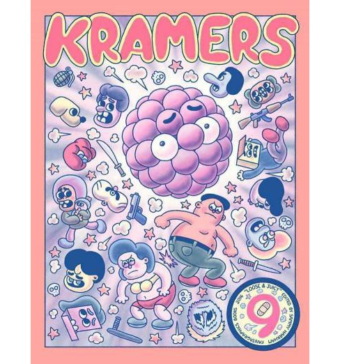 Kramers Ergot 9 (Paperback) (Kim Deitch & Renee French & Kevin Huizenga & Michael Deforge) - image 1 of 1