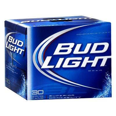 Bud Light® Beer - 30pk / 12oz Cans