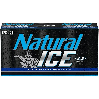 Natural Ice Beer - 18pk/12 fl oz Cans