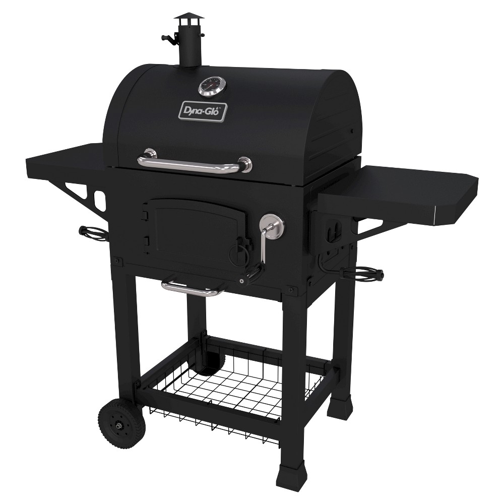 Dyna-Glo Heavy Duty Charcoal Grill, Black 50026246