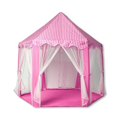 Ningbo Zhongrui Import And Export Co Pink Hexagon Fantasy Castle Play Tent | 53 x 47 x 55 Inches