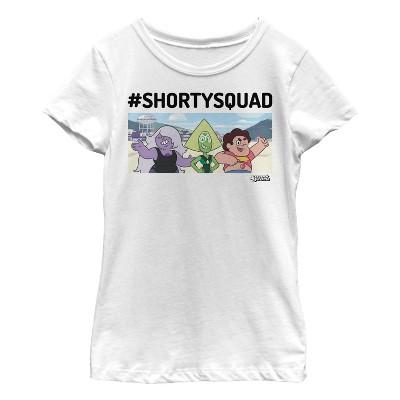 Girl's Steven Universe #ShortySquad T-Shirt