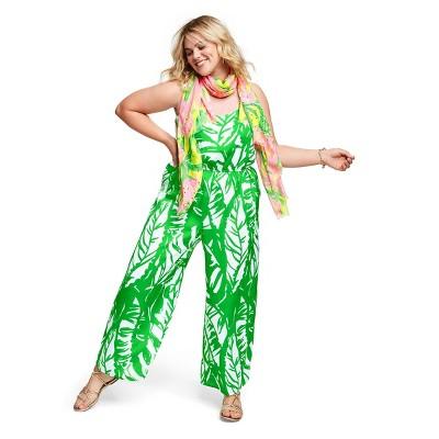 Women\'s Plus Size Boom Boom Sleeveless V-Neck Jumpsuit ...