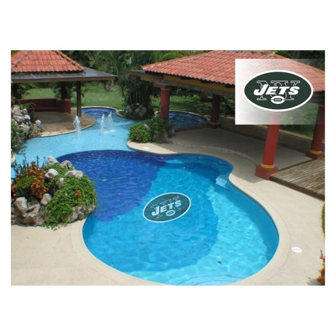 NFL New York Jets Small Pool Decal