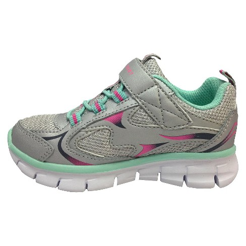 7f24d3338 Toddler Girls  S Sport By Skechers Washabubbles Performance Athletic Shoes  - Silver   Target