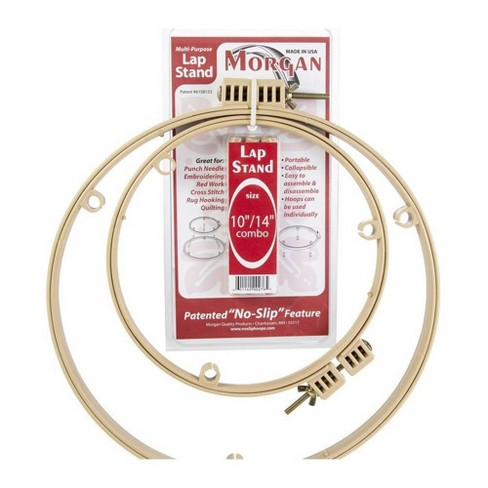 "10""& 14"" 2pk Morgan Lap Stand Combo - Quilting Hoops - image 1 of 1"