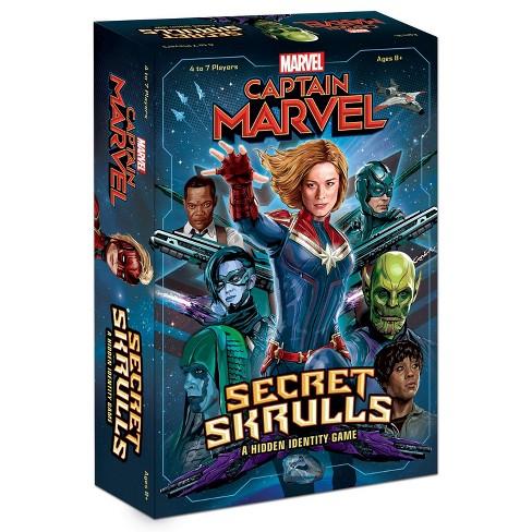 Captain Marvel Secret Skrulls Game Target