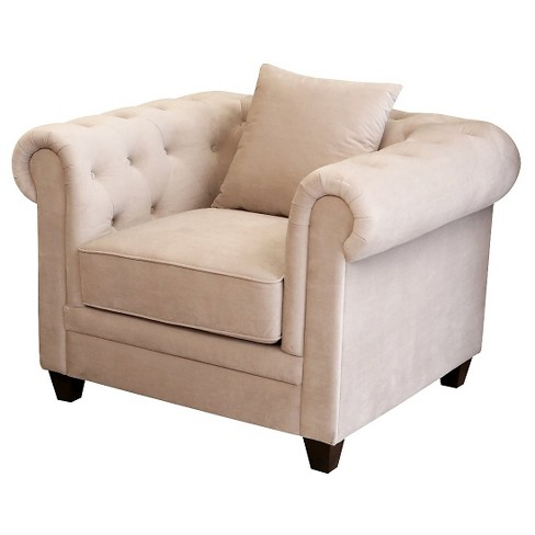 39 X 42 X 27 Upholstered Chair - Abbyson Living - image 1 of 3