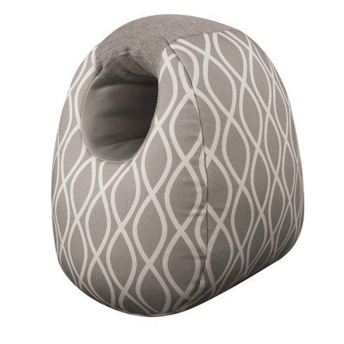 Itzy Ritzy Milk Boss Infant Feeding Support Breastfeeding and Bottle Feeding Pillow - Gray - image 1 of 4