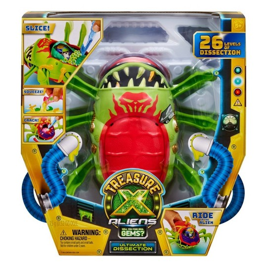Treasure X Aliens - Ultimate Disection Playset image number null