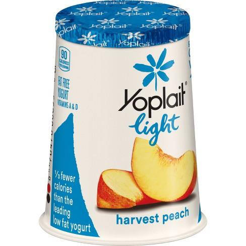Yoplait Light Harvest Peach Yogurt - 6oz