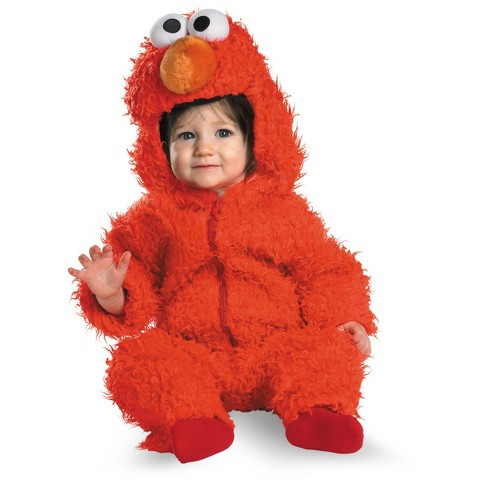 Boys' Elmo Costume 12-18 Months - image 1 of 1
