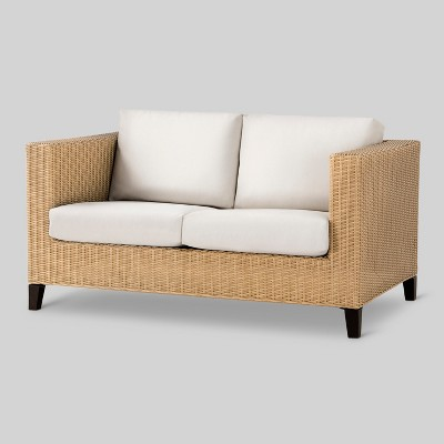 Merveilleux Fullerton Wicker Patio Loveseat   Project 62™ : Target