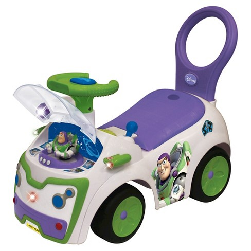 Kiddieland Disney Toy Story Buzz Lightyear Light and Sound Activity Ride-On - image 1 of 2