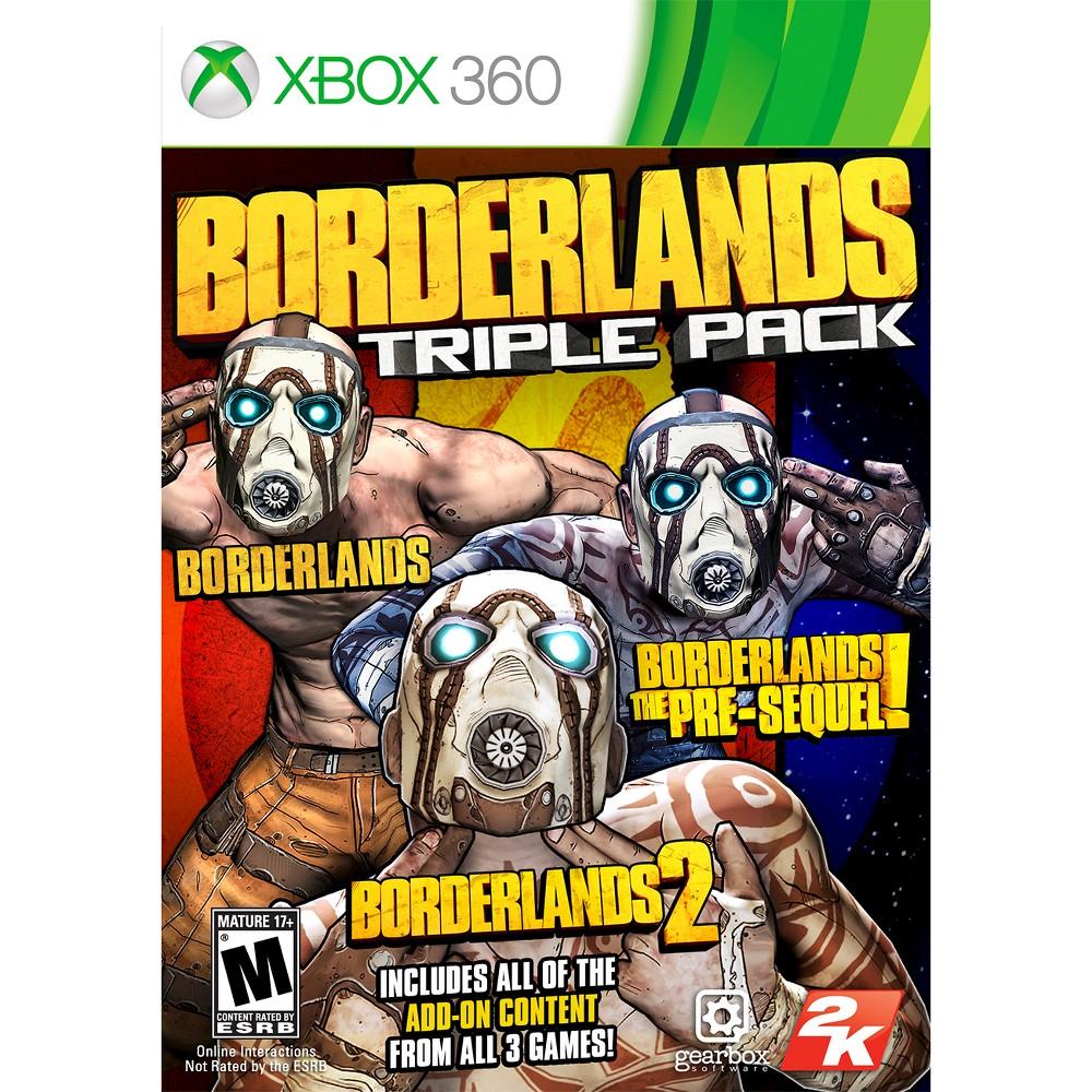 Image of 2K Games Borderlands: Triple Pack Xbox 360