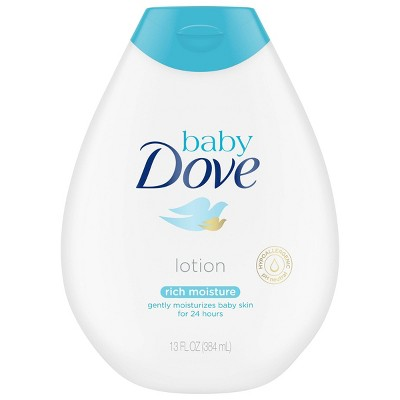 Baby Dove Rich Moisture 24-Hour Moisturizing Baby Lotion - 13oz