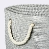 Large Round Coiled Rope Basket - Cloud Island™ - image 3 of 3