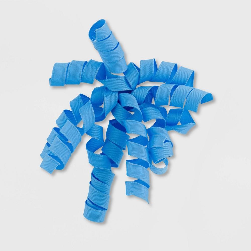 Image of Grosgrain Fabric Swirl Light Blue - Spritz