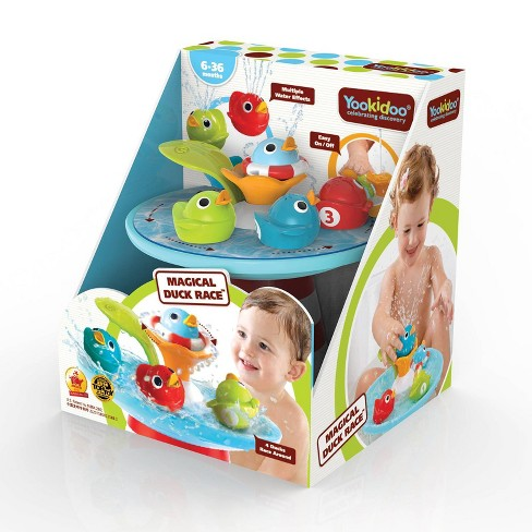 Yookidoo Magical Duck Race Bath Toy - image 1 of 4