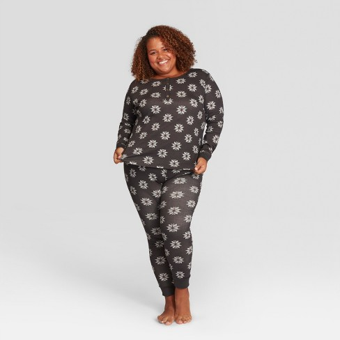 6afdcf5a02 Women s Fair Isle Plus Size Holiday Pajama Set - Hearth   Hand™ with  Magnolia