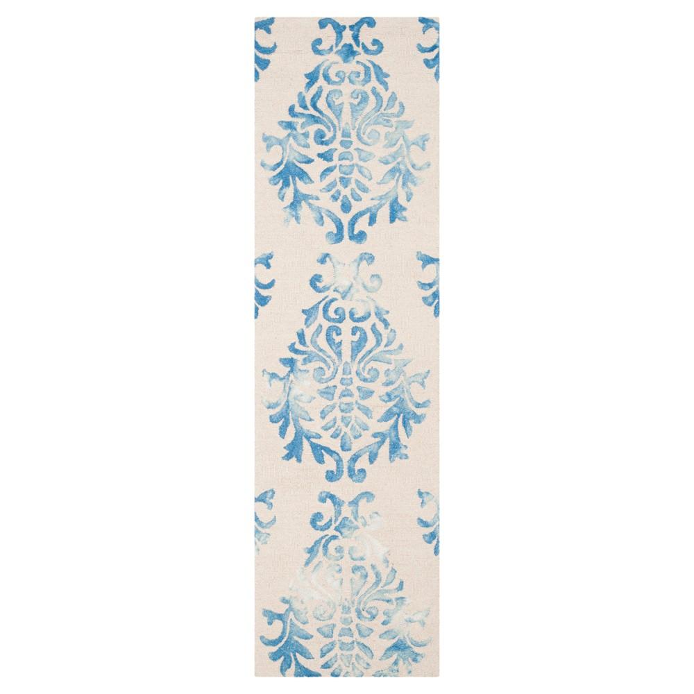 Garr Area Rug - Beige/Blue (2'3x6') - Safavieh
