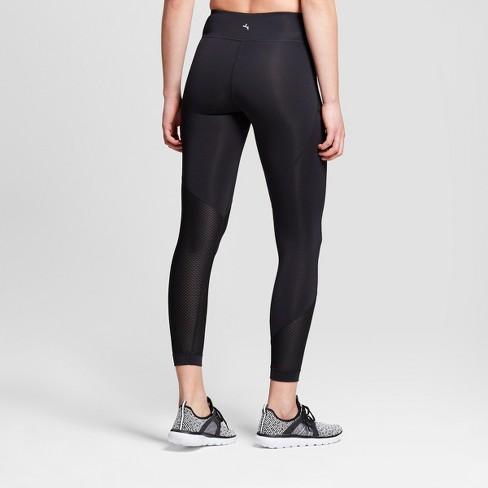 dcdd9a684d40f Women's Performance 7/8 Asymmetrical Mid-Rise Leggings - JoyLab™ Black XXL  : Target