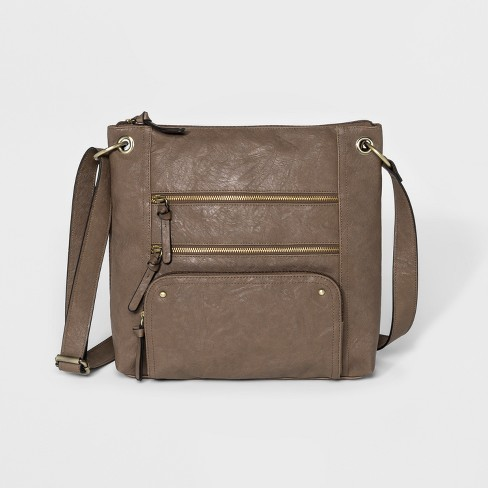 d8ea43e3a Bueno Veg Tan Crossbody Bag - Taupe : Target