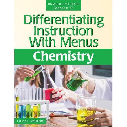 Differentiating Instruction with Menus: Chemistry - by  Laurie E Westphal (Paperback) - image 1 of 1