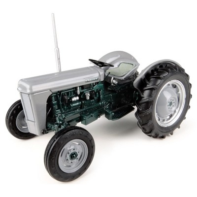 """1954 Ferguson TO 35 """"Launch Edition"""" Gray and Green Metallic 1/32 Diecast Model by Universal Hobbies"""